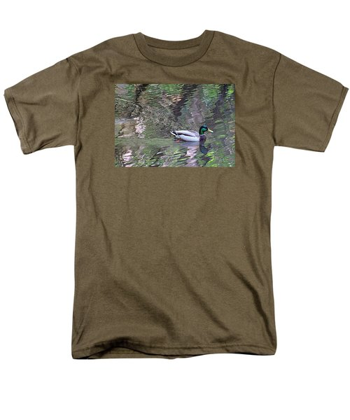 Men's T-Shirt  (Regular Fit) featuring the photograph Duck Patterns by Suzy Piatt