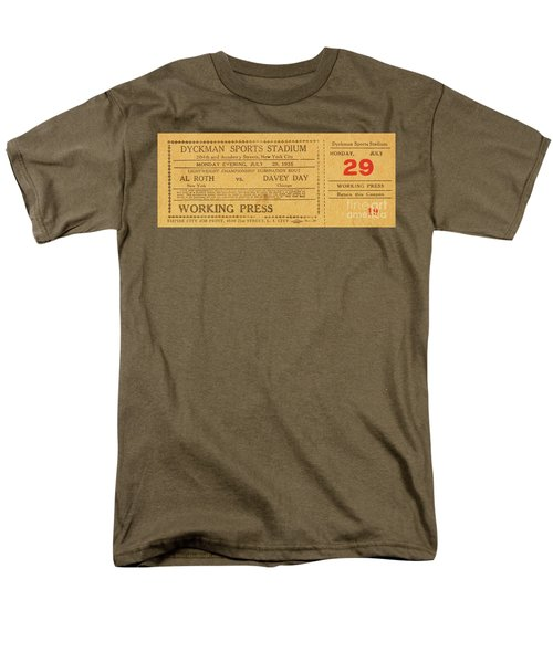 Men's T-Shirt  (Regular Fit) featuring the photograph Dyckman Oval Ticket by Cole Thompson