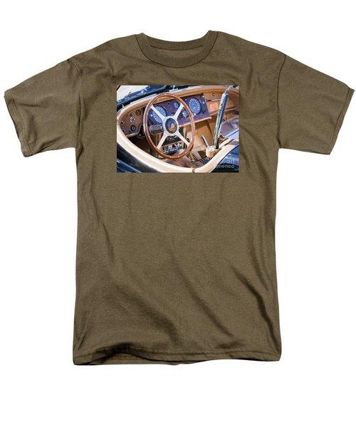 E-type Jaguar Dashboard Men's T-Shirt  (Regular Fit) by Chris Dutton