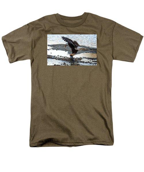 Eagle Dinner Men's T-Shirt  (Regular Fit) by Sabine Edrissi