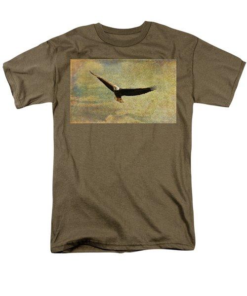 Eagle Medicine Men's T-Shirt  (Regular Fit) by Deborah Benoit