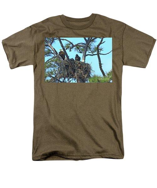 Men's T-Shirt  (Regular Fit) featuring the photograph Eagle Series Baby by Deborah Benoit