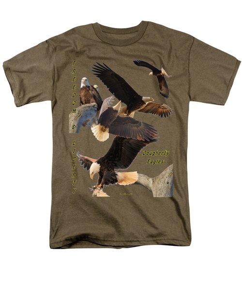 Eagle T-shirt Men's T-Shirt  (Regular Fit) by Bonfire Photography