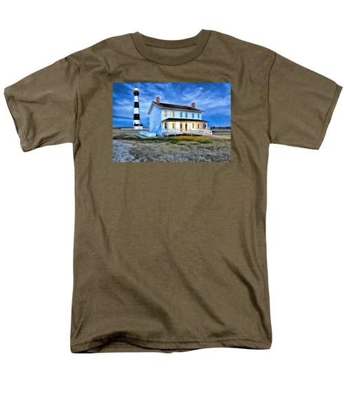 Early Evening Lighthouse Men's T-Shirt  (Regular Fit) by Marion Johnson