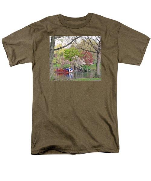 Early Spring Boston Men's T-Shirt  (Regular Fit) by Barbara McDevitt