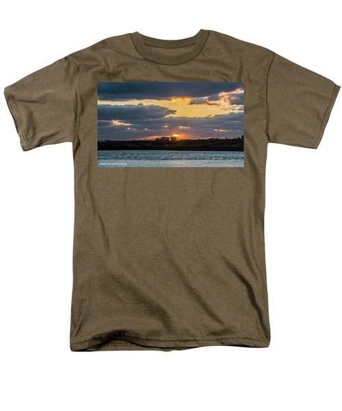 Early Sun Men's T-Shirt  (Regular Fit) by Nance Larson