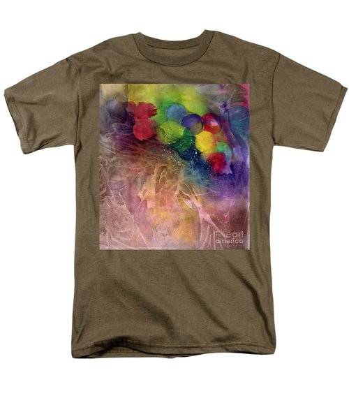 Men's T-Shirt  (Regular Fit) featuring the painting Earth Emerging by Allison Ashton