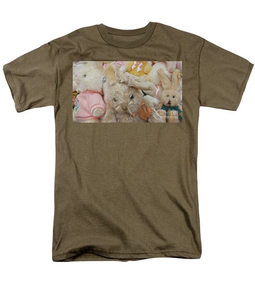 Men's T-Shirt  (Regular Fit) featuring the photograph Easter Bunnies by Benanne Stiens
