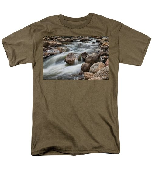 Men's T-Shirt  (Regular Fit) featuring the photograph Easy Flowing by James BO Insogna