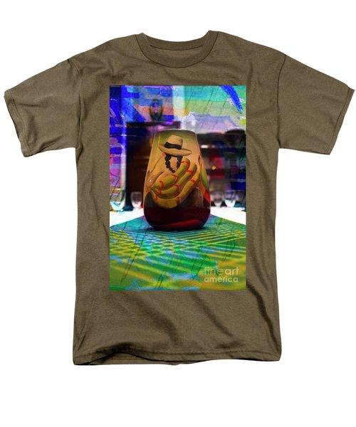 Men's T-Shirt  (Regular Fit) featuring the photograph Ecuadorian Vase Art by Al Bourassa