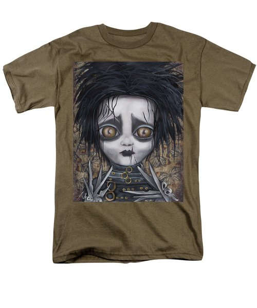 Edward Scissorhands Men's T-Shirt  (Regular Fit) by Abril Andrade Griffith