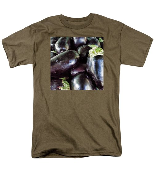 Men's T-Shirt  (Regular Fit) featuring the photograph Eggplant by Lewis Mann