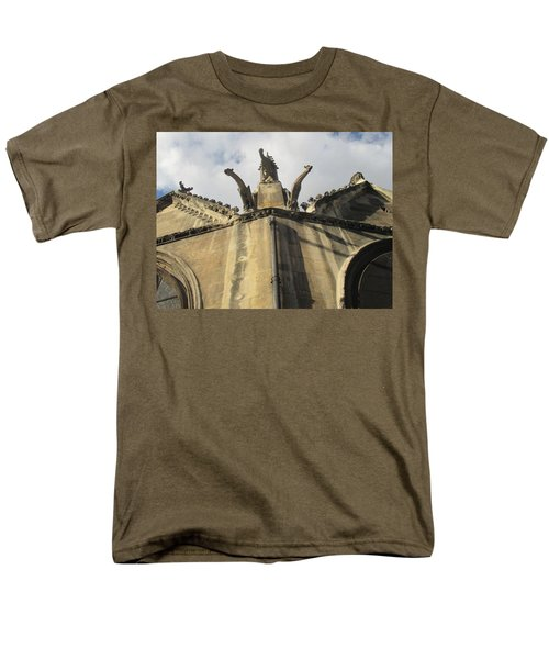 Men's T-Shirt  (Regular Fit) featuring the photograph Eglise Saint-severin, Paris by Christopher Kirby