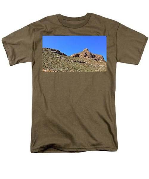 Men's T-Shirt  (Regular Fit) featuring the photograph El Paso's  Pali - No. 2016 by Joe Finney