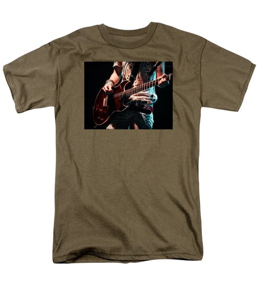 Men's T-Shirt  (Regular Fit) featuring the photograph Electric Rock by Cameron Wood