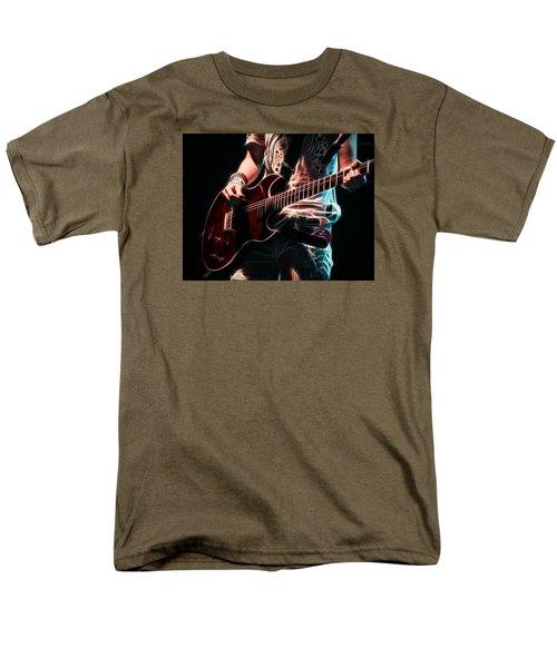 Electric Rock Men's T-Shirt  (Regular Fit) by Cameron Wood