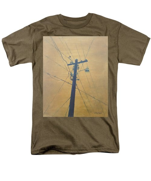 Electrified Men's T-Shirt  (Regular Fit) by T Fry-Green