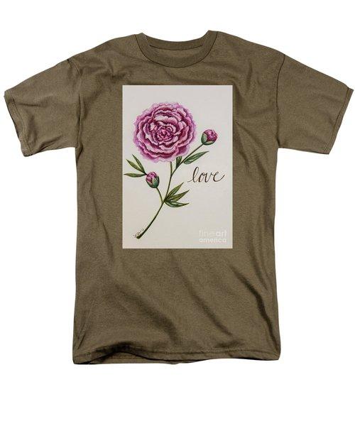 Elegant Love Men's T-Shirt  (Regular Fit) by Elizabeth Robinette Tyndall