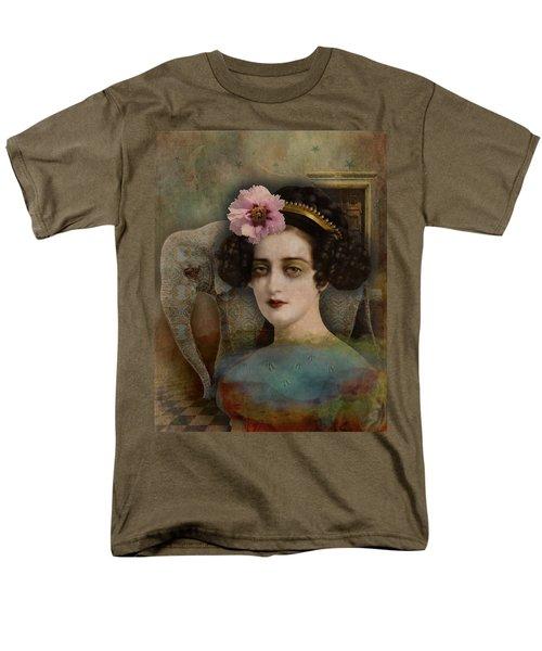 Men's T-Shirt  (Regular Fit) featuring the digital art Elephant Dreamer by Lisa Noneman