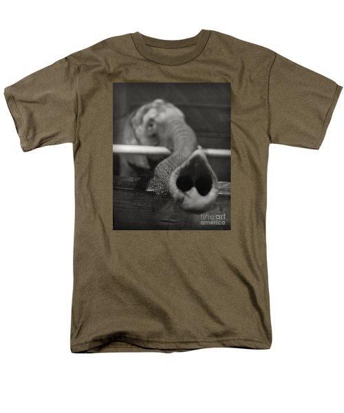 Elephant Trunk Men's T-Shirt  (Regular Fit) by Martin Konopacki