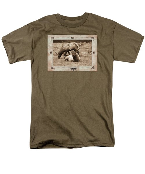 Elk Men's T-Shirt  (Regular Fit) by Athala Carole Bruckner