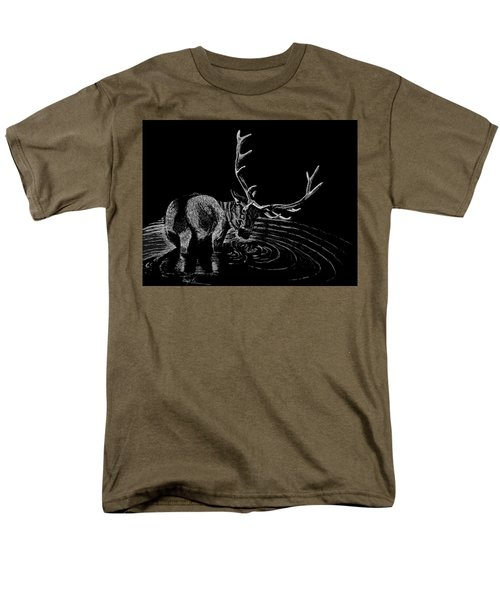 Elk Men's T-Shirt  (Regular Fit) by Lawrence Tripoli