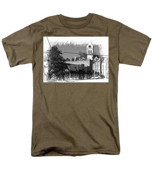 Men's T-Shirt  (Regular Fit) featuring the photograph Ellaville, Ga - 3 by Jerry Battle