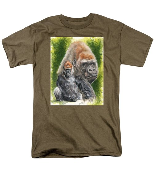 Men's T-Shirt  (Regular Fit) featuring the painting Eloquent by Barbara Keith