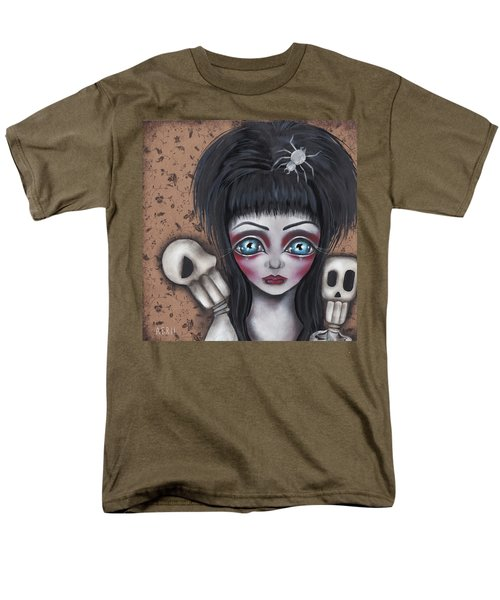 Elvira Men's T-Shirt  (Regular Fit) by Abril Andrade Griffith