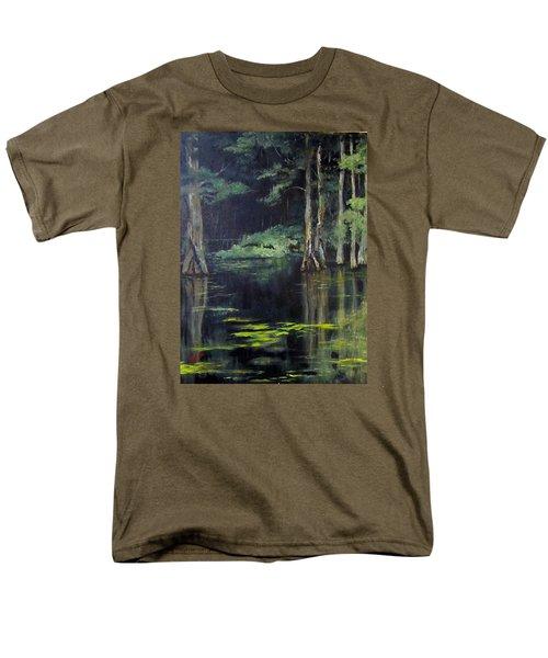 Emerald Bayou Men's T-Shirt  (Regular Fit) by Barbara O'Toole