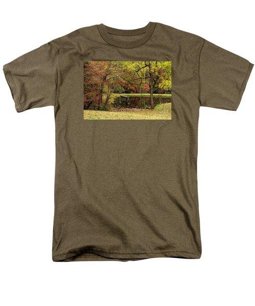 Men's T-Shirt  (Regular Fit) featuring the photograph Empty Dock by Barbara Bowen