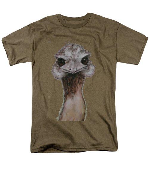 Emu Selfie Men's T-Shirt  (Regular Fit) by Kathy Carothers