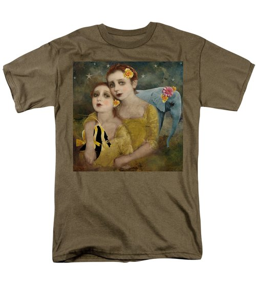 Enchanted Elephant Men's T-Shirt  (Regular Fit) by Lisa Noneman