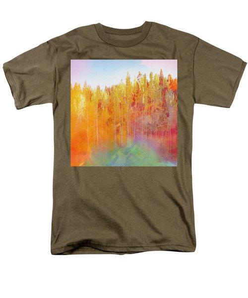 Men's T-Shirt  (Regular Fit) featuring the digital art Enchanted Scenery #3 by Klara Acel