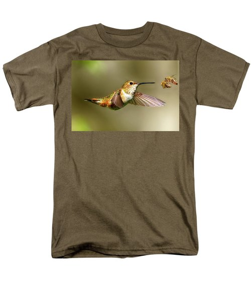 Encounter Men's T-Shirt  (Regular Fit) by Sheldon Bilsker
