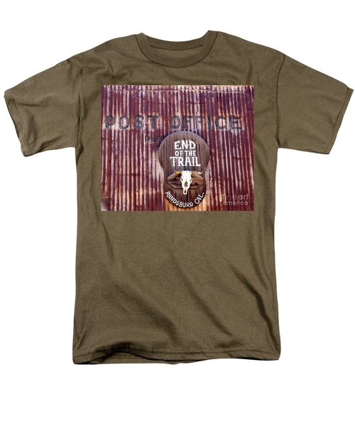 End Of The Trail Men's T-Shirt  (Regular Fit) by Suzanne Lorenz