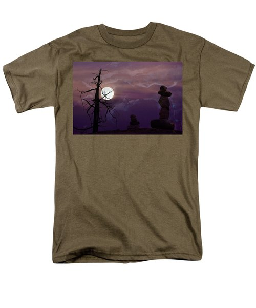 End Of Trail Men's T-Shirt  (Regular Fit) by Ed Hall
