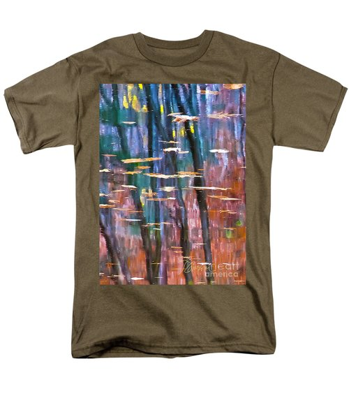 Men's T-Shirt  (Regular Fit) featuring the photograph Enders Reflection by Tom Cameron