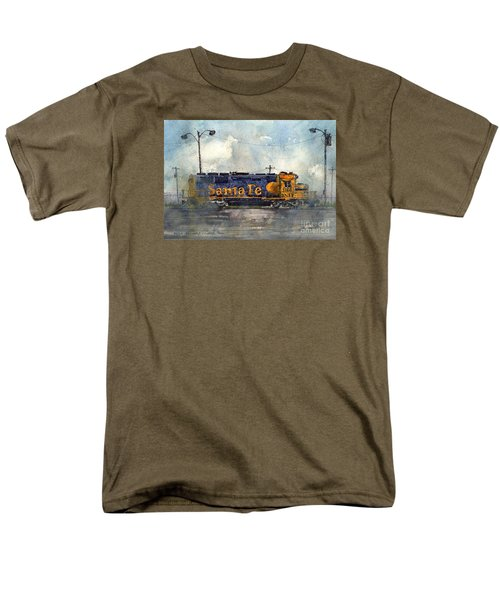 Men's T-Shirt  (Regular Fit) featuring the painting Engine 3166 by Tim Oliver