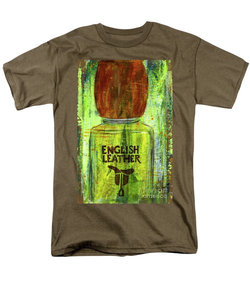 Men's T-Shirt  (Regular Fit) featuring the painting English Leather by P J Lewis