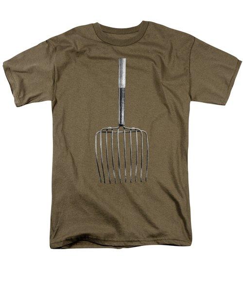Ensilage Fork Down Men's T-Shirt  (Regular Fit)