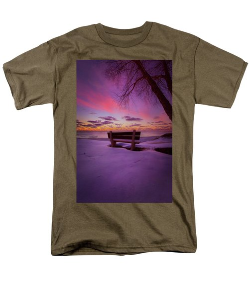 Men's T-Shirt  (Regular Fit) featuring the photograph Enters The Unguarded Heart by Phil Koch