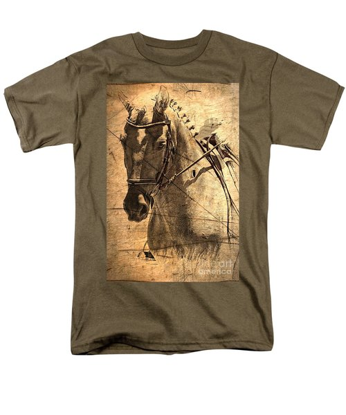 Equestrian Men's T-Shirt  (Regular Fit) by Clare Bevan