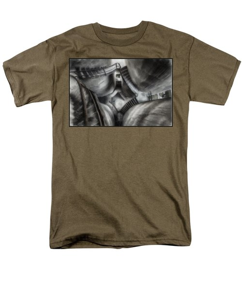 Escher Stairwell Men's T-Shirt  (Regular Fit) by Mario Carini