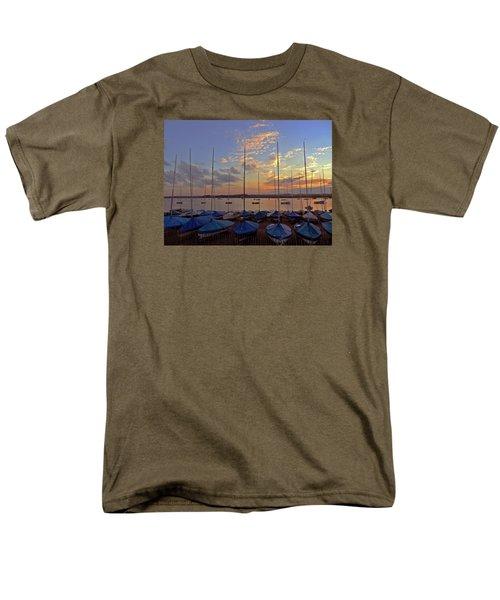 Men's T-Shirt  (Regular Fit) featuring the photograph Estuary Evening by Anne Kotan