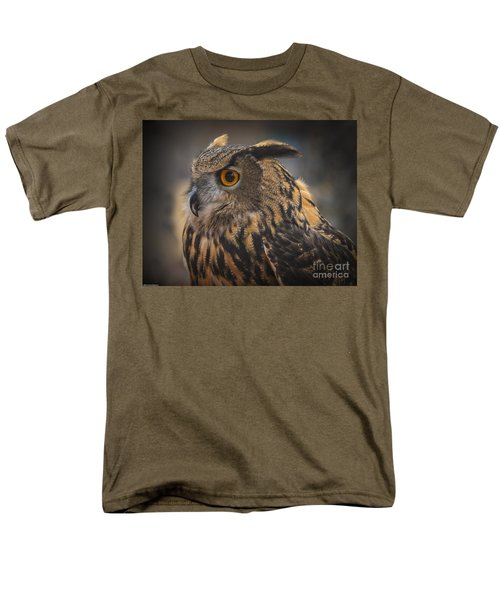 Eurasian Eagle Owl Portrait 2 Men's T-Shirt  (Regular Fit)