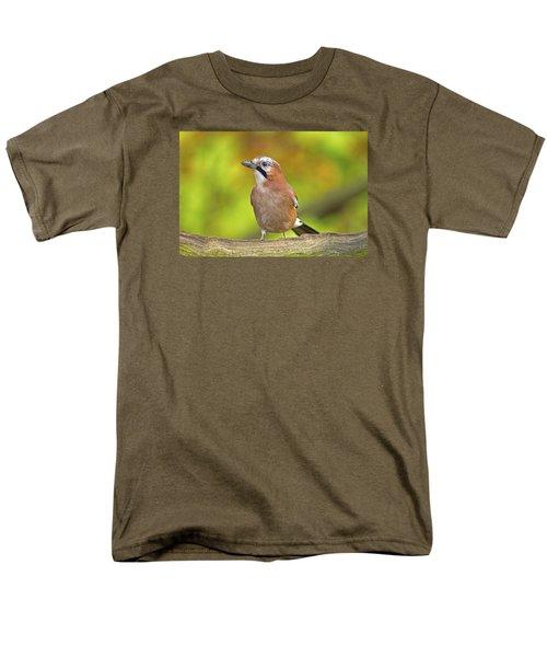 Eurasian Jay Men's T-Shirt  (Regular Fit) by Paul Scoullar