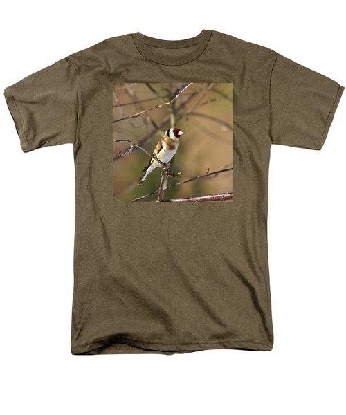 European Goldfinch 2 Men's T-Shirt  (Regular Fit) by Jouko Lehto