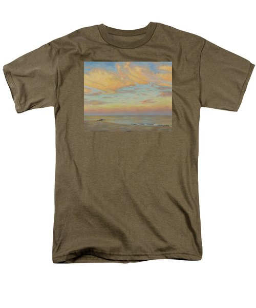 Men's T-Shirt  (Regular Fit) featuring the painting Evening by Joe Bergholm