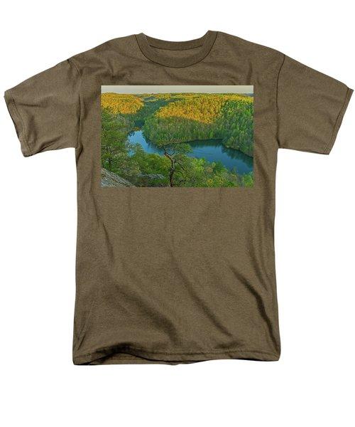 Evening Light In The Hills. Men's T-Shirt  (Regular Fit)